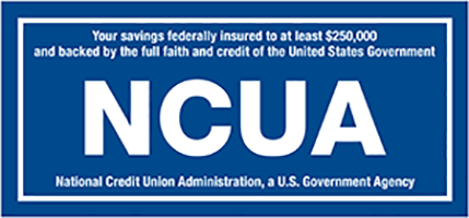 NCUA federally insured